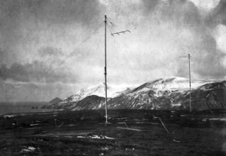 The antenna array used in 1912