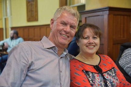 Rob VK4AAC and Doris