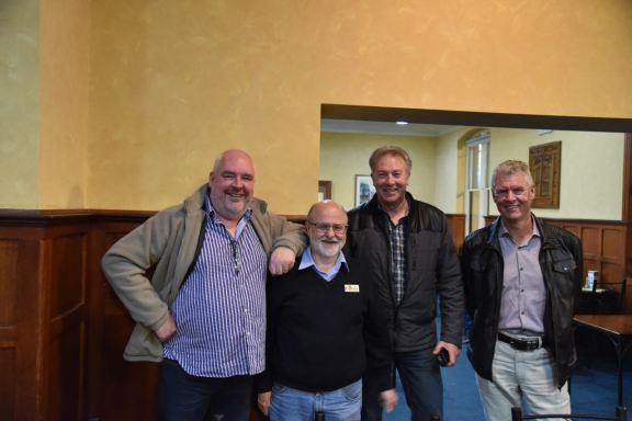 with Joe VK3YSP, John VK5NJ and Rob VK4AAC
