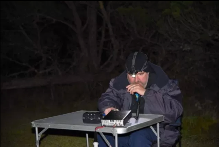 On air for the Trans Tasman Low Band Contest at theMowantjie Willauwar Conservation Park