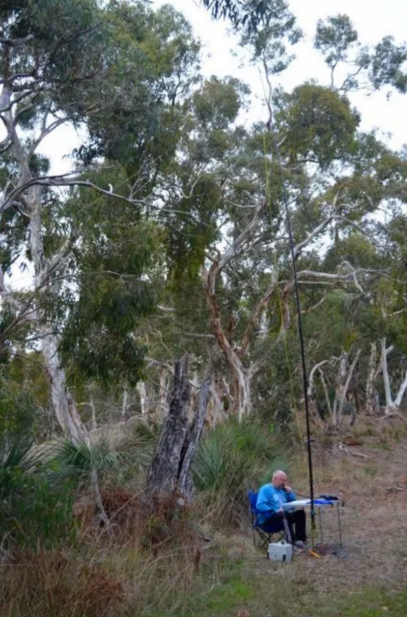 Operating from the Yulte Conservation Park