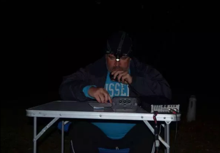 Operating at night from the Deep Creek Conservation Park