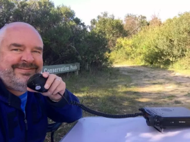 On air at Carpenter Rocks Conservation Park