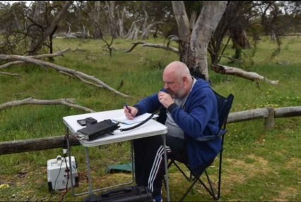 On air at Mount Monster Conservation Park