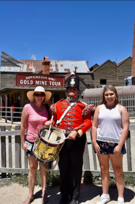 Marija and Olivia at Sovereign Hill