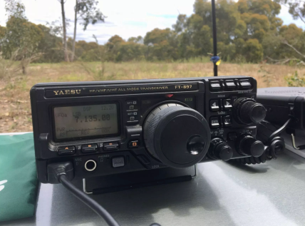 My newly acquired Yaesu FT-897