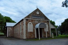 The old Temperance Hall in Kangarilla, built 1875