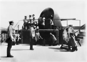 The 6 inch Mk VII gun, c. 1914