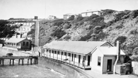 Fort Nepean in 1933