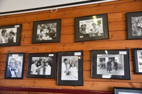 Flying Doctors memorabillia in Emmas Cafe
