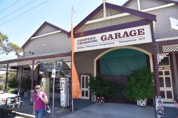 The 'Coopers Crossing' garage