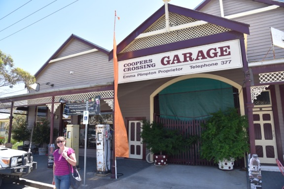 The 'Coopers Crossing' garage