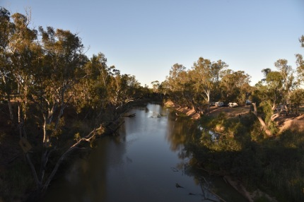 The Loddon River at Newbridge