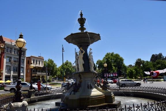 The Alexandra fountain at Charing Cross