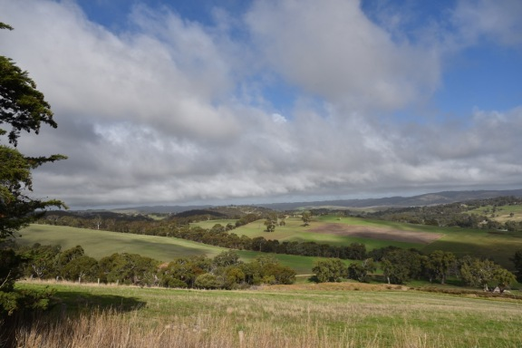 View of land around Yankalilla
