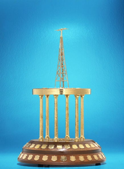 The RD Contest trophy. Image courtesy of WIA