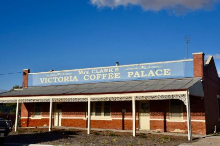 The former Victoria Coffee Palace