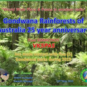 VK5PAS Gondwana Hunter 5