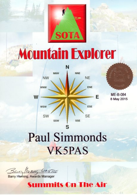 VK5PAS Mountain Explorer