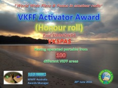 Activator Honour Roll 100